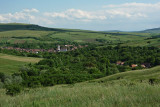 View of Dârjiu (Székelyderzs)