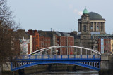 The Liffey and Four Courts