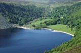 Looking down on Lough Tay