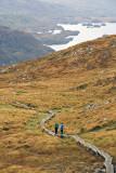 Torc Mountain footpath