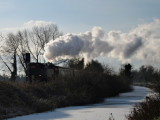 Steam train at Barberstown