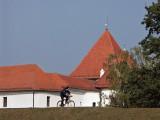 Varaždin - Stari Grad and cyclist