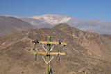 Los Andes - from Cerro de la Virgen