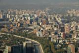 Santiago - from Cerro San Cristobal