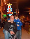Me and Tallan Noble Latz Walkin in Memphis
