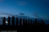 The Tongariki at dawn