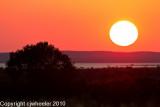 Sunset at Arroyo de la Tuna
