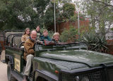 All ready for the game drive.