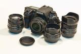 My Pentax Limited lenses:  15mm F4.0,  31mm F1.8,  43mm F1.9,  77mm F1.8
