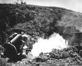 Flamethrower on Okinawa