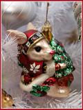 Fitz n Floyd Bunny with Tree