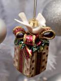 Fitz n Floyd Dove on Gift Box
