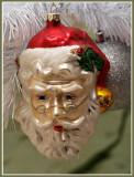 Fitz n Floyd Santa with Glasses