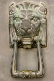 Door knocker at City Hall