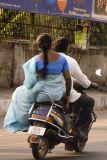 Pillion rider