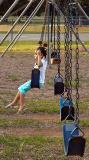 Being Pushed on a Swing