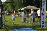 Rowan's First Triathlon (Age 7)