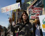 Iraq War Protest Third Year Anniversery