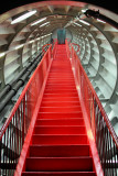 Stairs in  Atomium tube
