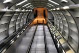 Escalator in Atomium tube