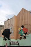 Another Herge creation at the wall !!