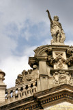 Bonifacius at top of the Mol & de Gouden Sloep