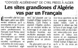 Article Liberte du 27 11 2005