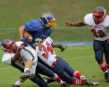 The Binghamton Patriots vs The Maine-Endwell Spartans