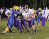 The Oneonta Yellow Jackets vs The Norwich Purple Tornado