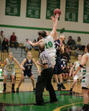 Seton Catholic Central's Girls Basketball Team versus Chenango Forks