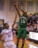 Seton Catholic Central High School's Boys Basketball Team versus Johnson City High School