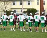 Seton Catholic Central High School's Boys Lacrosse Team versus Johnson City