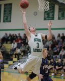 Seton Catholic Central High School's Boys Basketball Team versus Chenango Forks High School