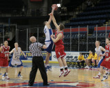 Binghamton High School vs Oneonta High School in the STAC Championship Game For Boys Basketball