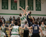 Seton Catholic Central's Boys Basketball Team versus Susquehanna Valley HS in the Section Four Tournament