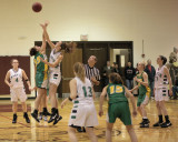 Seton Catholic Central's Girls Basketball Team versus Greene HS in the Section Four Tournament