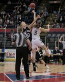 Seton Catholic Central's Girls Basketball Team versus Elmira Notre Dame High School in the Section Four Tournament