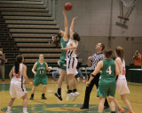 Seton Catholic Central's Girls Basketball Team versus Briarcliff at the NYSPHSAA Tournament