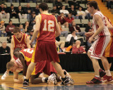 Chenango Valley's Boys Basketball Team versus Olean at the NYSPHSAA Tournament