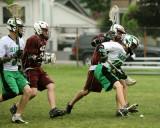 Seton Catholic Central's Boys Lacrosse team vs Johnson City High School