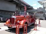 Firetrucks all around