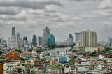Chao Phraya river, Bangkok, viewed from Chinatown