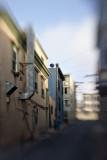 Sloping street