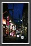 Tokyo at night - Ueno - Okachimachi street