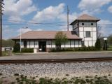 Illinois Valley Electric Railway Depot at Depue, Illinois