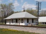 Chicago, Rock Island, & Pacific Depot at Depue, Illinois