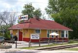 Chicago Rock Island  Pacific Depot at Milan, Illinois, Front.jpg