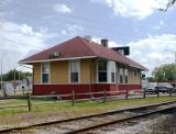 Chicago Rock Island  Pacific Depot Milan Illinois Trackside.jpg