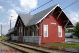 Chicago, Rock Island & Pacific Depot at Geneseo, Illinois, trackside.jpg