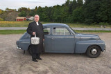 Ingemar Carlsson Tjärnö and his Volvo PV